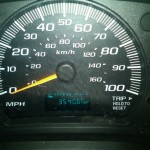 Number of miles SINAI drove in 6 days..