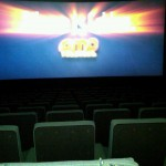 The best movie theatre is an empty one. We own the place!