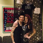 Nick and Misi at the SINAI merch booth!!